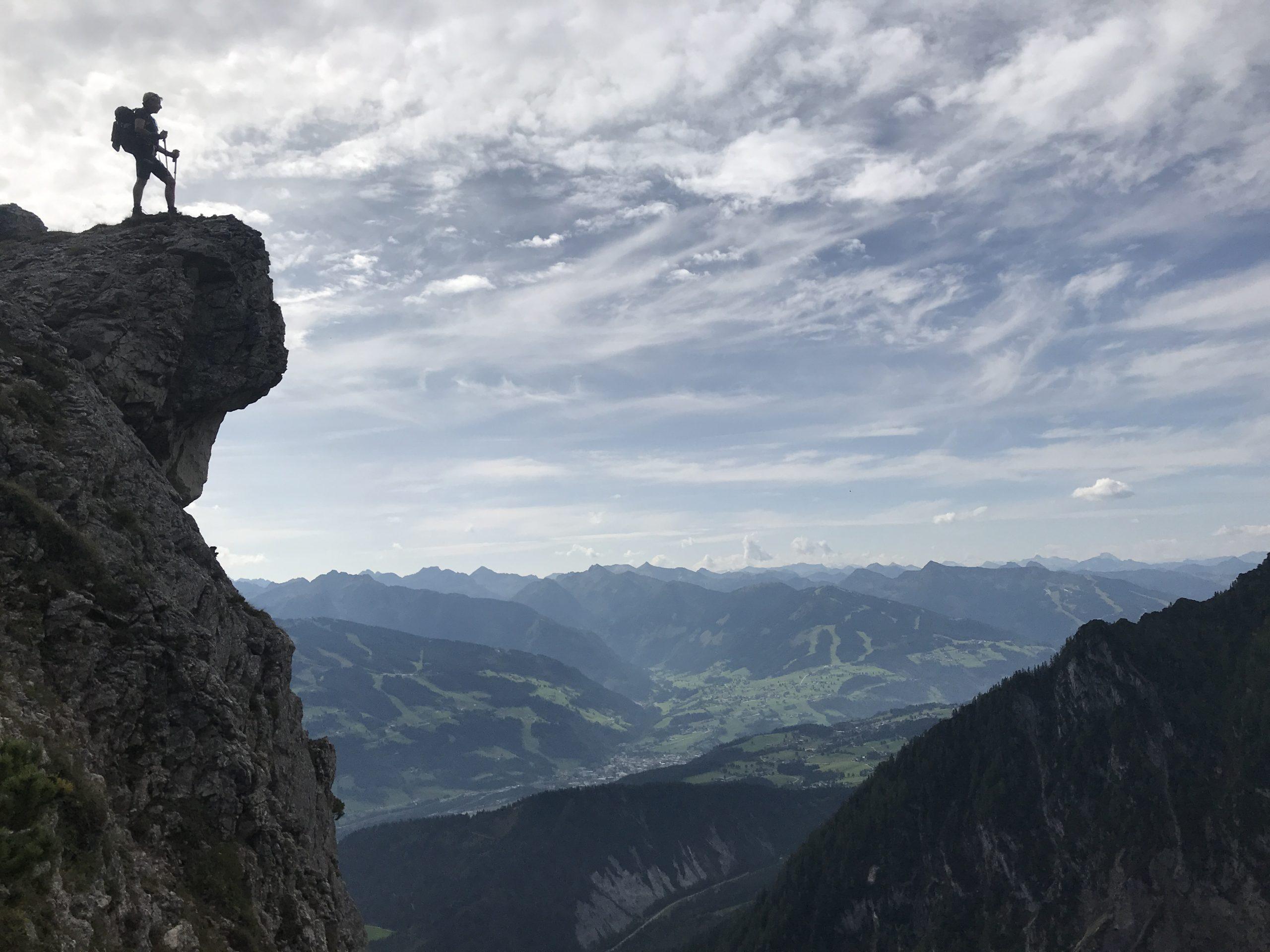 Wenn einer vom Berg kommt, ist er ein anderer Mensch!